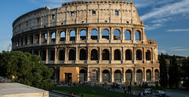 Rome, Ruins and Floating People