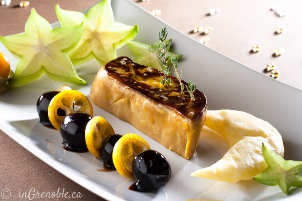 Foie gras and photography